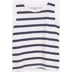 Zippy - T-shirt dziecięcy (2-pack) 95-163 cm. Szare t-shirty chłopięce z nadrukiem marki bonprix, m, z dzianiny, z kontrastowym kołnierzykiem. W wyprzedaży za 29,90 zł.