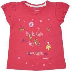 Bluzki dziewczęce z krótkim rękawem: Bluzka z krótkim rękawem dla dziewczynki 0-3 lata
