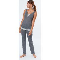 Etam - Piżama Alaska. Niebieskie piżamy damskie marki Etam, l, z bawełny. W wyprzedaży za 89,90 zł.