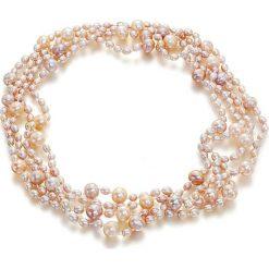 Naszyjniki damskie: Naszyjnik z perłami – (D)202 cm