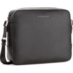 Torba na laptopa TRUSSARDI JEANS - Ottawa 71B00011 K299. Czarne plecaki męskie Trussardi Jeans, z jeansu. W wyprzedaży za 349,00 zł.