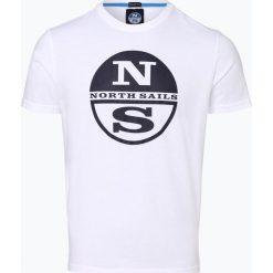 T-shirty męskie: North Sails - T-shirt męski, czarny