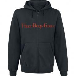 Three Days Grace Logo Bluza z kapturem rozpinana czarny. Czarne bluzy męskie rozpinane Three Days Grace, l, z kapturem. Za 184,90 zł.