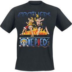 T-shirty męskie: One Piece Brothers T-Shirt czarny