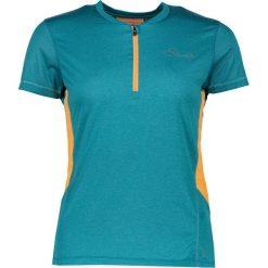 """Koszulka kolarska """"Assort"""" w kolorze turkusowym. Niebieskie topy sportowe damskie Dare2b Women Fitness & Bike, z materiału, z krótkim rękawem. W wyprzedaży za 65,95 zł."""