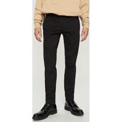 Rurki męskie: Spodnie chino skinny - Czarny