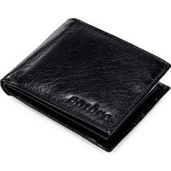 PORTFEL MĘSKI SKÓRZANY A090 - CZARNY. Czarne portfele męskie Ombre Clothing. Za 49,00 zł.
