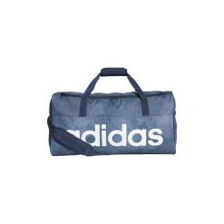 b1481a8f99784 Torby sportowe adidas Torba Linear Performance Duffel Medium. Niebieskie  torby podróżne Adidas.