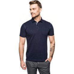 Koszulka polo grandi granatowy 0001. Niebieskie koszulki polo Recman, m. Za 89,99 zł.