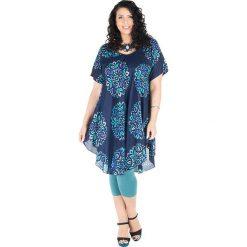 Sukienki: Sukienka w kolorze czarno-niebieskim