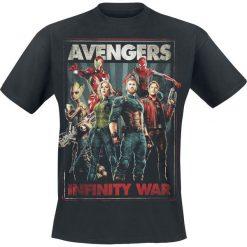 T-shirty męskie z nadrukiem: Avengers Infinity War T-Shirt czarny