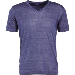 Koszulki polo: 120% Lino UOMO Tshirt basic dark blue
