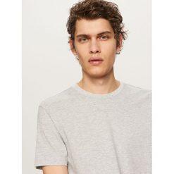 T-shirt BASIC - Jasny szar. Niebieskie t-shirty męskie marki Reserved. Za 19,99 zł.