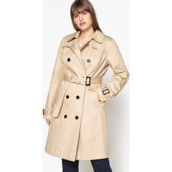 Płaszcze damskie pastelowe: Płaszcz przeciwdeszczowy w stylu trencza