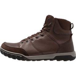 Ecco URBAN LIFESTYLE Buty trekkingowe brown. Brązowe buty trekkingowe męskie ecco, z materiału, outdoorowe. Za 759,00 zł.