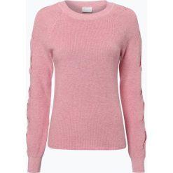 Swetry damskie: Vila – Sweter damski – Myntani, różowy