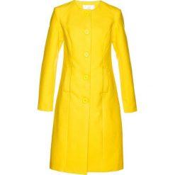 Płaszcz bonprix żółty cytrynowy. Żółte płaszcze damskie bonprix. Za 239,99 zł.