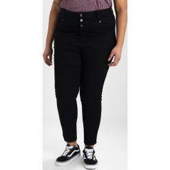 New Look Curves CLEAN  Jeans Skinny Fit black. Czarne rurki damskie New Look Curves. W wyprzedaży za 134,10 zł.