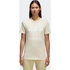 Koszulka adidas Trefoil (CV9893). Szare bralety Adidas, z bawełny. Za 89,99 zł.