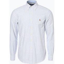 Polo Ralph Lauren - Koszula męska, niebieski. Niebieskie koszule męskie na spinki Polo Ralph Lauren, l, z bawełny, z klasycznym kołnierzykiem. Za 499,95 zł.