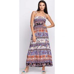 Sukienki: Niebieska Sukienka Inspired