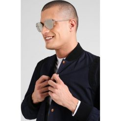 Okulary przeciwsłoneczne męskie aviatory: Emporio Armani Okulary przeciwsłoneczne gunmetal