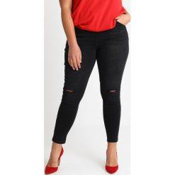 Rurki damskie: Simply Be CHLOE RIPPED KNEE Jeans Skinny Fit washed black