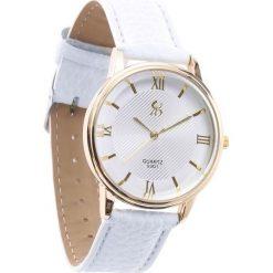 Biały Zegarek Servility. Białe zegarki damskie Born2be. Za 24,99 zł.