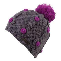 Czapki damskie: CHILLOUTS Czapka damska Tabea Hat TAB01 szaro-fioletowa (CHI-3665)
