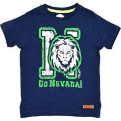 Nativo - T-shirt dziecięcy 104-164 cm. Niebieskie t-shirty męskie z nadrukiem marki Nativo, z bawełny. W wyprzedaży za 26,90 zł.