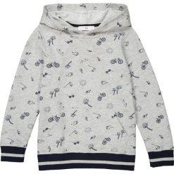 Bluzy chłopięce rozpinane: Bluza z kapturem, z moltonu z nadrukiem, 3-12 lat