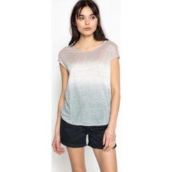 Koszulka Tee shirt tie dye TALCALA. Niebieskie bluzki damskie SUD EXPRESS, m, z okrągłym kołnierzem, z krótkim rękawem. Za 293,96 zł.