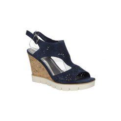 Sandały Marco Tozzi  Sandały ażurowe  2-28354-28. Czarne sandały damskie marki Marco Tozzi, w ażurowe wzory. Za 148,99 zł.
