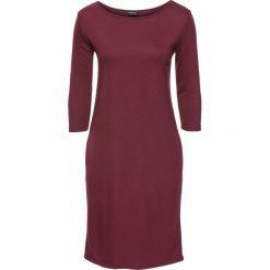 Sukienki hiszpanki: Sukienka bonprix bordowy