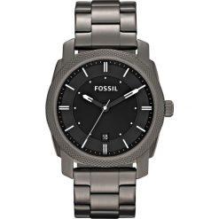 Zegarek FOSSIL - Machine FS4774 Smoke/Smoke. Różowe zegarki męskie marki Fossil, szklane. Za 599,00 zł.