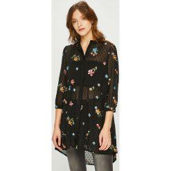 Answear - Koszula. Niebieskie koszule damskie marki ARTENGO, z elastanu, ze stójką. W wyprzedaży za 139,90 zł.