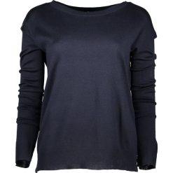 Sweter w kolorze granatowym. Niebieskie swetry oversize damskie marki Benetton, xs, z dzianiny. W wyprzedaży za 54,95 zł.