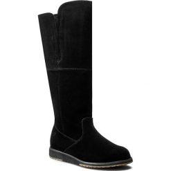 Kozaki EMU AUSTRALIA - Quin Hi W11286 Black. Czarne buty zimowe damskie marki Superfit, z gore-texu, przed kolano, na wysokim obcasie. Za 849,00 zł.
