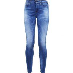 Replay HYPERFLEX LUZ  Jeans Skinny Fit mid blue. Niebieskie jeansy damskie relaxed fit marki Replay. Za 689,00 zł.