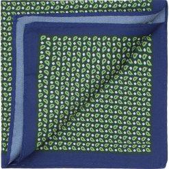 Poszetka 87-7P-001-X2. Niebieskie poszetki męskie marki Wittchen, z bawełny, eleganckie. Za 79,00 zł.