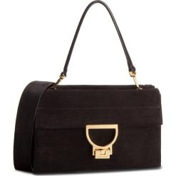 Torebka COCCINELLE - DD6 Arlettis Suede E1 DD6 12 01 01 Noir 001. Brązowe torebki klasyczne damskie marki Coccinelle, ze skóry. Za 1649,90 zł.