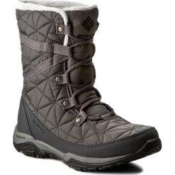 Śniegowce COLUMBIA - Loveland Mid Omni-Heat BL1743 Quarry/Black 052. Szare buty zimowe damskie marki Columbia, z dzianiny. W wyprzedaży za 319,00 zł.