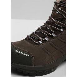 Mammut NOVA II GTX Buty trekkingowe bark/white. Brązowe buty zimowe damskie Mammut, z materiału. W wyprzedaży za 539,25 zł.