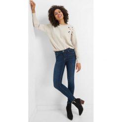 Jeansy skinny. Niebieskie jeansy damskie skinny marki Orsay, z bawełny. W wyprzedaży za 120,00 zł.