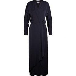 Długie sukienki: Filippa K DRAPEY WRAP DRESS Długa sukienka navy