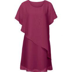 Sukienki: Sukienka z tkaniny bonprix magenta
