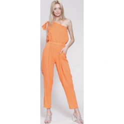 Kombinezony damskie: Pomarańczowy Kombinezon Number Six