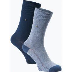 Levi's - Skarpety męskie pakowane po 2 szt., niebieski. Niebieskie skarpetki męskie marki Levi's®, z bawełny. Za 49,95 zł.
