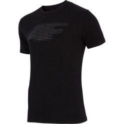 4f Koszulka męska H4Z17-TSM005 4F czarna r. L. Czarne koszulki sportowe męskie marki 4f, l. Za 25,55 zł.