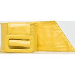 Answear - Pasek. Żółte paski damskie marki ANSWEAR, w paski, z materiału. W wyprzedaży za 27,90 zł.